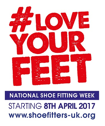 National Shoe Fitting Week: Starting Saturday 8th April